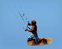kite surfer by Mittelfranke
