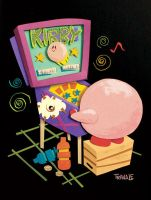 Kirby Pinball Land by TRAVALE