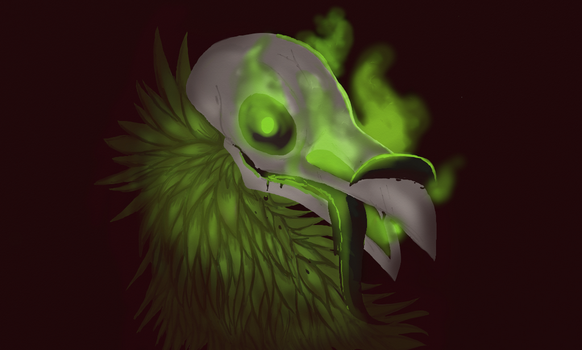 Caustic Crow by Katicin