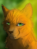 Headshot of Firestar by IssZekromKiddo