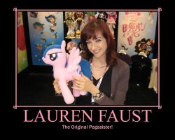 Lauren Faust: Pegasister! by SammyW28