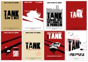 Tank - Poster designs by hesir