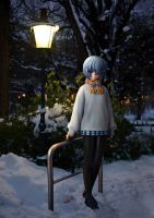 Winter Evening by Einheit00