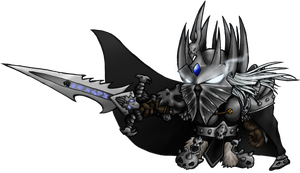 Mini Lich King by dedded