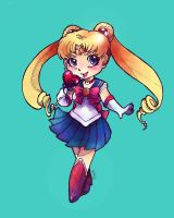 Pretty Princess Sailor Moon by PlaidRed