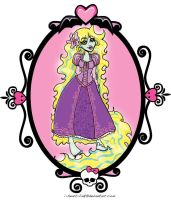 MH: Lagoona as Rapunzel by I-heart-Link