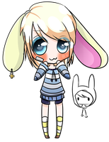 Auction: Blond Bunny CLOSED by AniiChiiAdopts