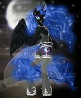 C - Nightmare Moon by tt-n