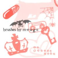 photoshop brushes by m-e-a-g-z