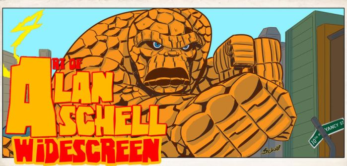 Thing Widescreen by AlanSchell