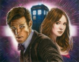Doctor Who by vividfury