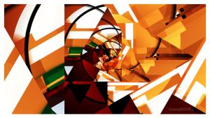 Cubist Spiral by roup14