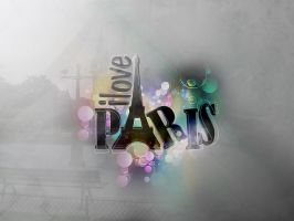 I love Paris by Greenma