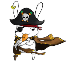 Pirate Bunny by Ondori-Kun
