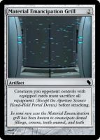 Emancipation Grill Magic card by rockvillepictures