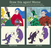 Before and after meme Maguschildcloud by MaguschildCloud