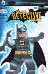 Batman Lego Blank Sketch Cover by rodneyfyke