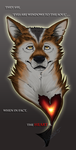 Wolf Broken Heart by StarNob