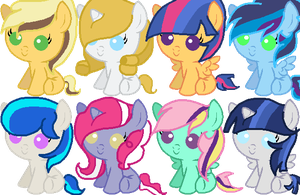 Adoptables Batch #16 (1 LEFT) by memeoverlord