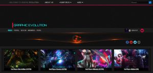 Graphic Evolution Skin Theme - WIP by Kypexfly