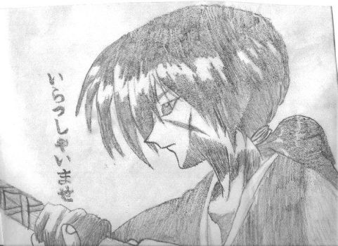 Sketch - Kenshin by sschafi1