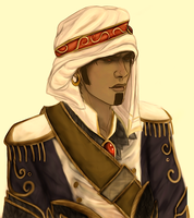 Wrathion Colored Sketch by paperdandy
