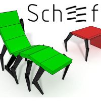 insect chair scheef by Heersch