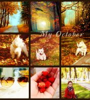 my october by LadyofSnow
