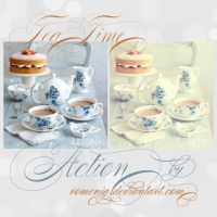 Tea Time Free Action by Romenig