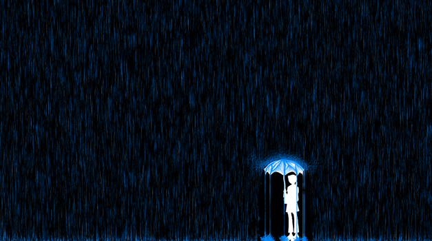 Rainy Day Wallpaper (TUTORIAL!) by theoneandonly06