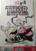 THROG sketch cover by thecheckeredman