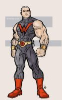 Wonder Man by scarab109