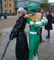 Riku Vs Green ranger by koala3lw
