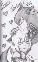 Happy Late Valentine's Day by Mischief-Soul-Lover