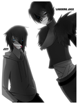 LJ and Jeff the Killer by DJ-BOmBE
