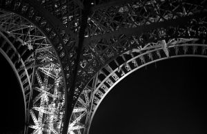 Eiffel Tower at night 2 by ManicMechE