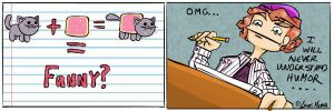 Nyan cat Comic by OnionsXD