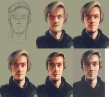 Pewds WIP by carny93
