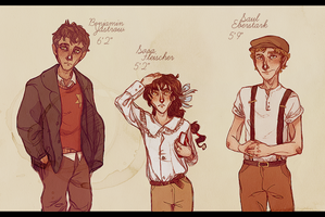 -Updated Height Chart- by HennaLucas