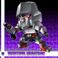 VIEWTIFUL MEGATRON by dyemooch