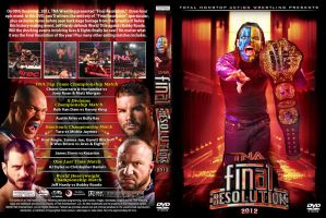 TNA Final Resolution 2012 DVD Cover by Chirantha