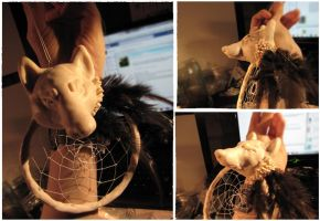 Dream Catchers: Wise Protector WIP by SaQe