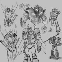 Random Transformers From All Over the Place by CarnivorousTwinkie