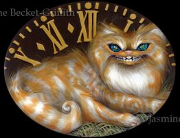 Cheshire Clock by jasminetoad