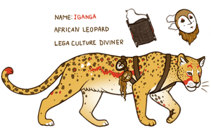 Contest Entry - Iganga by grouchywolfpup