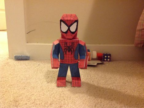 Spider-Man updated by papercraftnoob