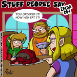 Stuff people say 256 by FlintofMother3