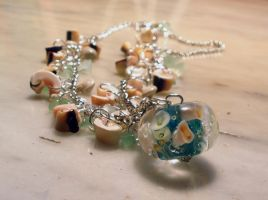 Sea Life Necklace by Athalour