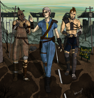 Fallout 3: Journey to Paradise Falls by AmandaRamsey