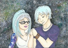 C: 3D ACEO Priss and Dmitri by Unisamas
